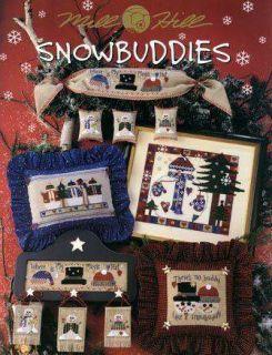 Snowbuddies Mill Hill Snowmen Cross Stitch Book