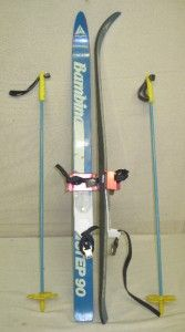 ATLAS Kids Youth Junior Cross Country Skis BC XC 90 CM with Poles