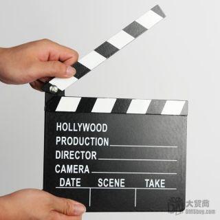 Hollywood Clapper Board Directors Film Slate Movie Cut