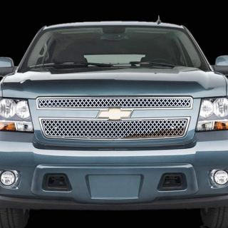12 chrome mesh grille insert stainless steel trim cover custom grille