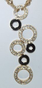 Crivelli 18 KT Gold Diamond Necklace WOW