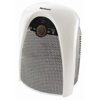 Holmes HFH436 Electric Heater Fan with Bathroom Safe Plug White