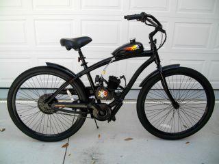 Motorized Beach &Street Cruiser Custom bike bicycle 80cc motor Scooter