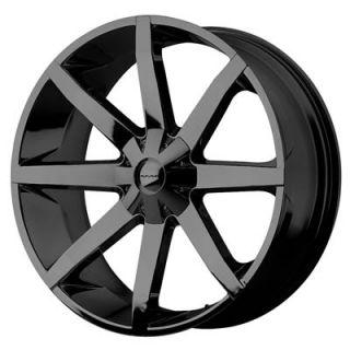 26 KMC Slide Black 6x139 135 Ford F150 Chevy GMC Nissan Infiniti