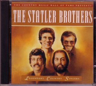 Country Singers Statler Brothers 1995 CD 25 Country Hits