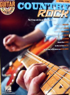 COUNTRY ROCK GUITAR Play Along Songbook Tab Chords Lyrics **FREE ROCK