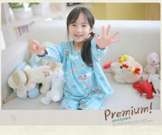 Pajamas Set Cute Cotton Clothes Toddler Infant Soft Warm Sleep