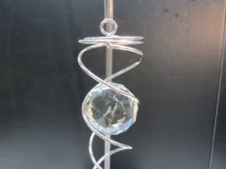 NEW~ SET OF 2~WIND CHIMES~AMAZING CRYSTAL TWISTERS~INDOOR/OUTDOOR