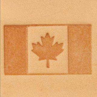 Craftool 3 D Stamp Canadian Flag Tandy Leathercraft