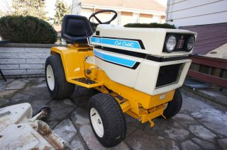 1974 CUB CADET 1450 HYDRO TRACTOR COMPLETE WITH ATTACHMENTS NICE