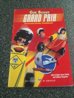 CUB SCOUT GRAND PRIX PINEWOOD DERBY GUIDEBOOK BOY SCOUTS OF AMERICA