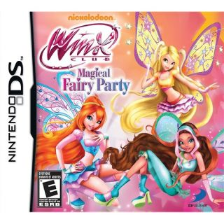 Winx Club Magical Fairy Party Video Game Nintendo DS 879278320383