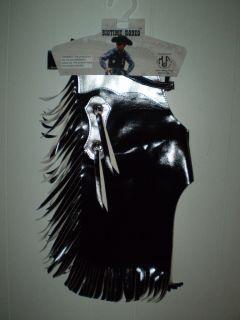 New Cowboy Bull Rider Rodeo Chaps Costume Boy Halloween