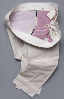 650 BRUNELLO CUCINELLI PANTS 40 US 56 Euro BEIGE NEW NWT CHINO