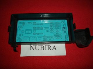 Daewoo Nubira Fuse Box Cover Free Shipping