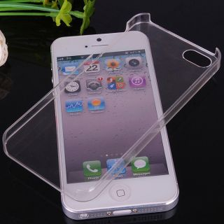 Crystal Clear Ultra Thin Transparent Hard Plastic Back Cover Case For
