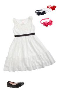 Kiddo Dress & Bows Arts Headband (Little Girls & Big Girls)