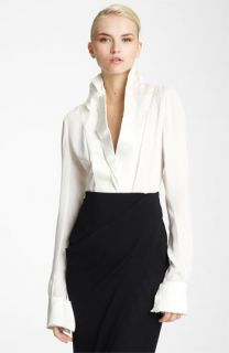 Donna Karan Collection Blouse & Skirt