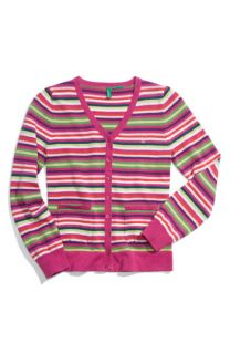 United Colors of Benetton Kids Stripe Cardigan (Little Girls)