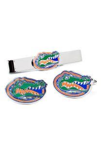 Ravi Ratan Florida Gators Cuff Links & Tie Bar