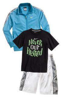 Nike T Shirt, Jacket & Shorts (Big Boys)