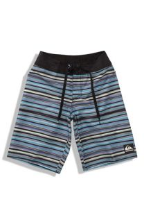 Quiksilver Cypher Leg Rope Stripe Board Shorts (Big Boys)