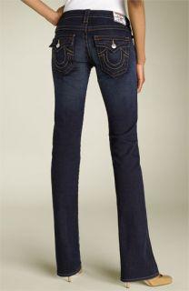 True Religion Brand Jeans Billy Jean Stretch Jeans (Dark Pony Express)