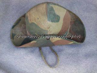 Belgian Camouflage Hat Bush Hat Belgian Camo Belgian Congo Belgium
