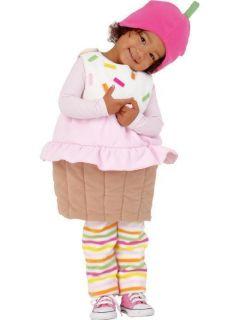 Toddler Fleece 3 Piece CUPCAKE Halloween Costume Dressup 2t 3t 2 3