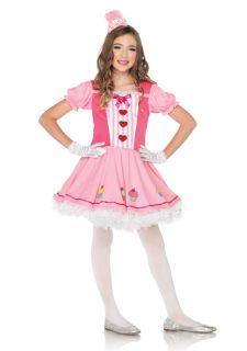 Cupcake Cutie Dress N Headband Outfit Kids Halloween Costume
