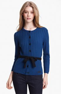 Burberry Brit Knit Merino Wool Cardigan