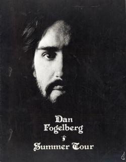 Dan Fogelberg 1977 Nether Lands Tour Concert Program Book