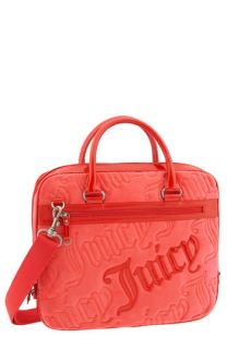 Juicy Couture Velour Laptop Case with Removable Strap