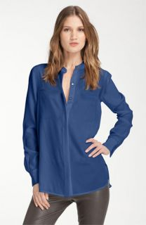 Vince Two Pocket Silk Shirt