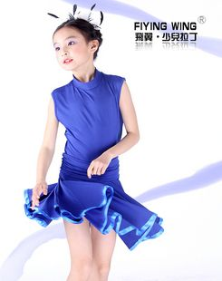 Childrens Latin Dress Girls Dancewear FY020
