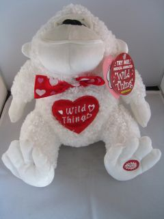 Collectors DanDee Singing Gorilla Valentine Plush Toy