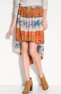 Free People Zen Garden Vintage Print Skirt