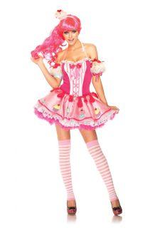 Sexy Katy Perry Cupcake Cutie Costume Womenstutu Halloween Dress s M