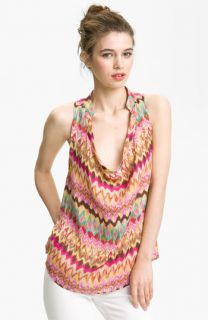 Haute Hippie Print Silk Top