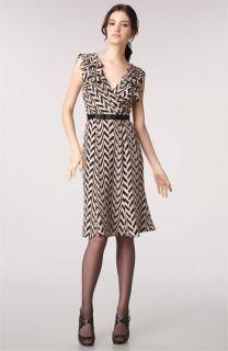 Tracy Reese Ruffled Print Dress