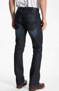 Rock Revival Hector Alternative Straight Leg Jeans (Dark Blue)