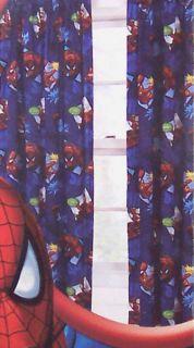 Spiderman Window Treatment Curtains Drapes Boys