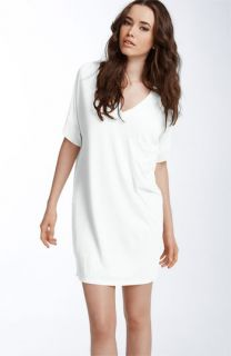 Haute Hippie V Neck T Shirt Dress