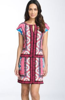 Donna Morgan Printed Matte Jersey Dress