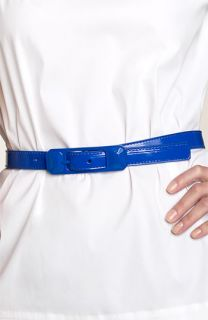 Cynthia Rowley Patent Leather Belt