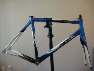 54cm 2008 Ridley Damocles Frameset Carbon Fiber Road Bike Frame