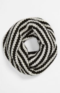 Echo Stripe Knit Infinity Scarf (Girls)