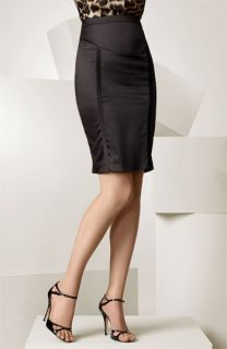Just Cavalli Satin Pencil Skirt