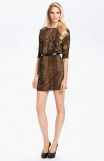 MICHAEL Michael Kors Leopard Print Dress (Petite)