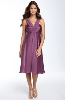 Donna Ricco Shirred Bodice Dress